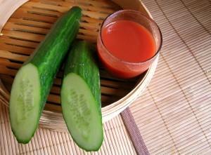Огурцы с использованием кетчупа чили