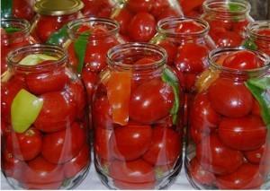 консервирование помидоров