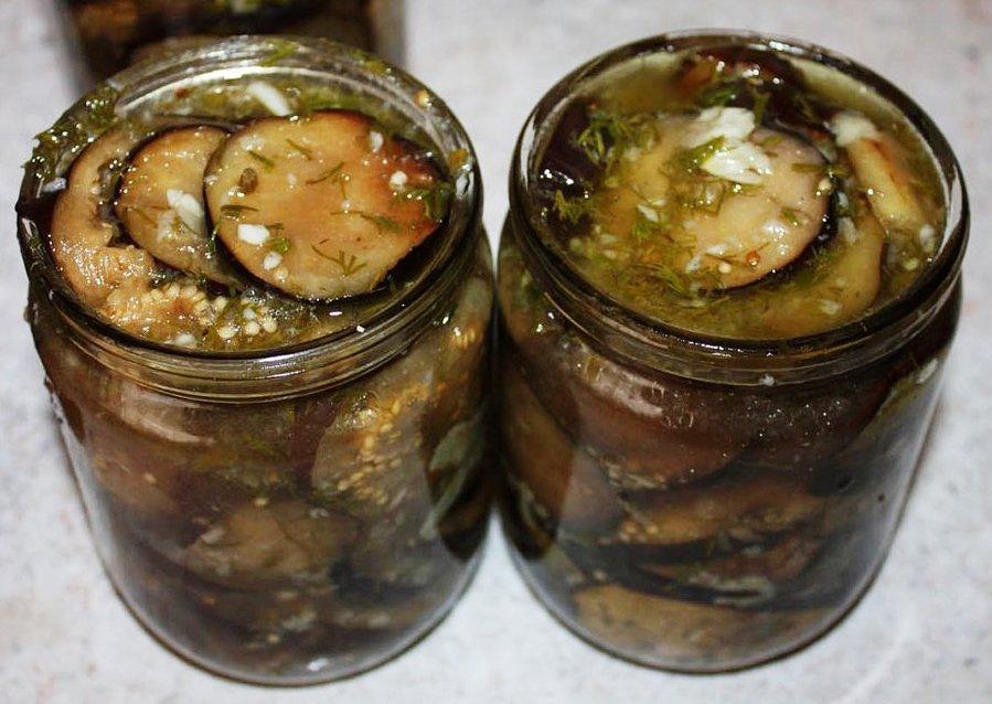 консервированные баклажаны